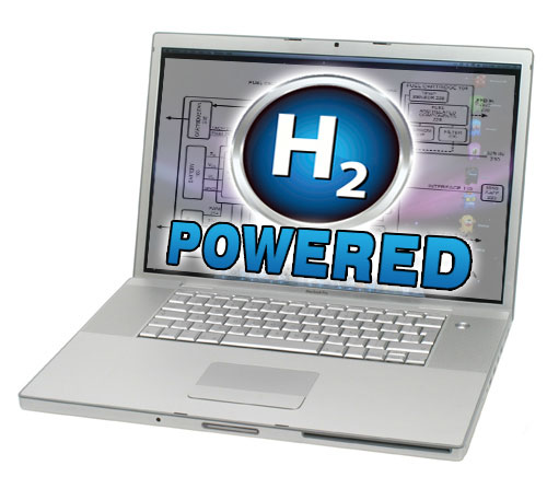 Hydrogen Fuel Cell Laptop